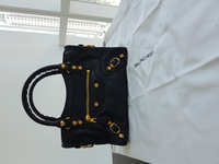 Used Bag balenciaga mini city gold new in Dubai, UAE
