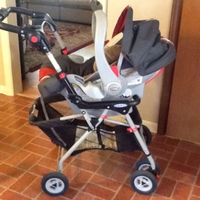 Used GRACO INFANT CAR SEAT WITH STROLLER FRAM in Dubai, UAE