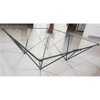 Used Geometric Glass Tabel in Dubai, UAE