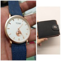 Used Original TOMI Watch< 🆓️ Leather Wallet in Dubai, UAE