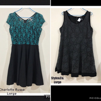 Used 2pcs Preloved Branded dresses in Dubai, UAE