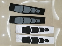 Long knee protection 2pairs, white&black