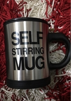 Used Self stirring coffee mug cup black in Dubai, UAE