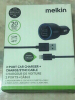 IPHONE 2 PORT CAR CHARGER