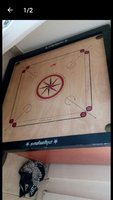 Carom board used but like new