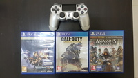 Used PS4 limited edition controller+2 games in Dubai, UAE