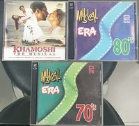 Used MP3 CDs - 3 pack Hindi Soundtracks in Dubai, UAE