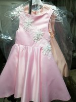 Used Dress for girl 4 years. Pink. in Dubai, UAE