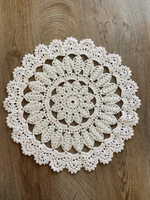 Used Crochet coaster white in Dubai, UAE