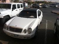 Used Mercedes Benz CLK320 Mo 1998 345000 Km in Dubai, UAE