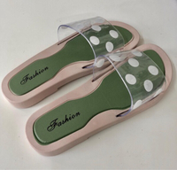 Used Jelly Summer Slipper Polka Dots / 39 in Dubai, UAE