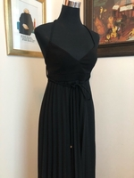 Used Italian Ferre maxi dress - black  in Dubai, UAE