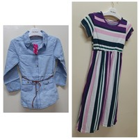Used Girl's dresses 2 pcs in Dubai, UAE