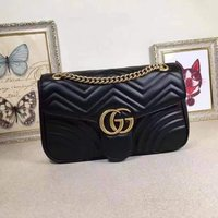 Used Gucci black bag brand new in Dubai, UAE