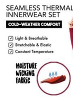 Used Seamless Thermal Innerwear Set One  in Dubai, UAE