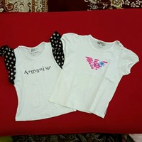 Used 2 Armani Shirts + Gift  in Dubai, UAE