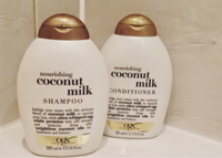 Used Ogx coconut milk shampoo conditioner  in Dubai, UAE