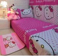 Used SINGLE FITTED BED COVER AND PILLOW CASE/ in Dubai, UAE