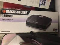 Used Black and decker  contact grill 1750w in Dubai, UAE