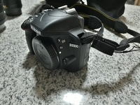 Used Nikon D3300 DSLR + 2 Lenses in Dubai, UAE