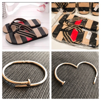 Used 2 pair slippers size 41 & 2 nail bangles in Dubai, UAE