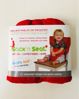 Used Portable infant Seat (Red ) in Dubai, UAE