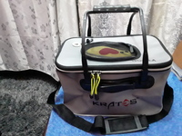 Used Foldable waterproof fishing bucket in Dubai, UAE
