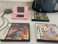 Used Nintendo ds lite with games and charger in Dubai, UAE