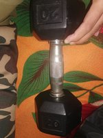 Used Gym dumbell only one piece 20 kg in Dubai, UAE