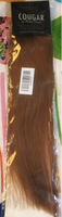 "Used Cougar brown clip in remy hair 18"" #10 in Dubai, UAE"