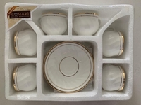 Used 2 Pcs of 6 Cups & Saucer Sets  in Dubai, UAE