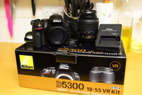 Used Dslr D5300 wifi version  in Dubai, UAE