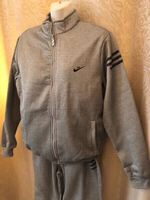 Used Tracksuit 3 pieces grey size XXL in Dubai, UAE