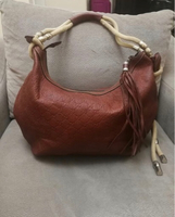 AUTHENTIC GUCCI REAL LEATHER SHOULDERBAG