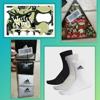 Used Buy 3 addidas socks n get wallet Ninja in Dubai, UAE