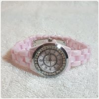Used Beautiful pink TIMECO watch for her. in Dubai, UAE