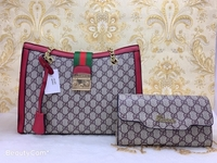 Used GUCCI LADIES BAG WITH WALLET RED in Dubai, UAE