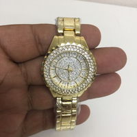 Used Bee sisters watch golden colour in Dubai, UAE