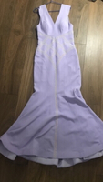 Used Lavender colour evening gown! in Dubai, UAE