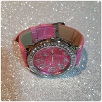 Cute and nice watch pink color