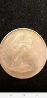 Used Old coin elizabeth ll D.G 1971 two pence in Dubai, UAE
