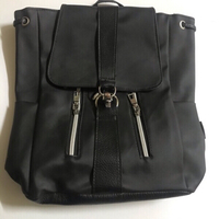 Used Black backpack 🎒 for women 💯 new  in Dubai, UAE