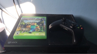 Used Xbox1 with controller and Minecraft game in Dubai, UAE