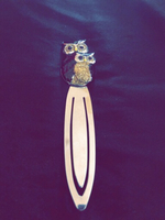 Used Hooting owl fancy bookmark  in Dubai, UAE