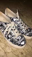Used Aldo graphic shoes size 40 in Dubai, UAE