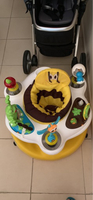 Used Baby bouncer with toys all around in Dubai, UAE