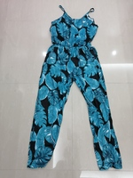 Used Floral jumpsuit size XL new in Dubai, UAE