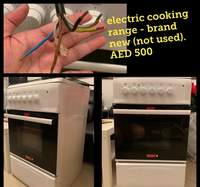 Used Electric Cooking Range (Brand New) in Dubai, UAE
