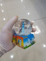 Used Dubai water ball souvenir ✅ in Dubai, UAE