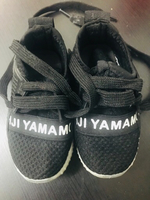 Used Baby boy shoes black size 22 (9-12)  in Dubai, UAE